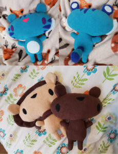 Various soft toys - 2020.